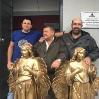 Los ángeles de Die Engel fueron restaurados y entregados al Museo