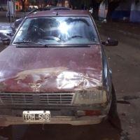 Detenida por dañar un automóvil