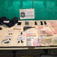 Detienen a cuatro personas que vendían cocaína y marihuana en Savio y Garín