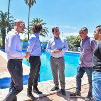 El intendente recorrió las renovadas instalaciones del Club de La Familia de Matheu