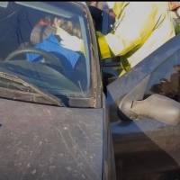 Accidente en las vías de Maquinista Savio