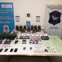 Golpe al narcotráfico: por una denuncia recibida en el 0800 municipal, se realizaron nueve allanamientos, se desbarató una peligrosa banda y se incautaron más de 11 kilos de droga