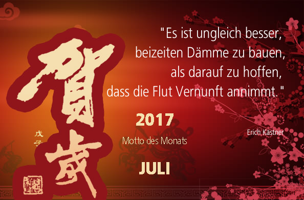 Motto des Monats Juli