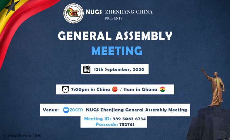 Highlights From Nugs-Zhenjiang 1st General Assembly Meeting 2020