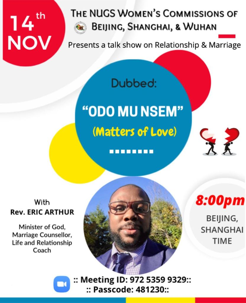 Beijing, Shanghai and Wuhan Presents Relationship and Marriage Talk Show