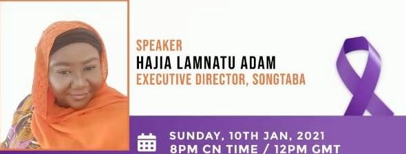Women's Commission of NUGS-Chendu Presents the Maiden Talk Show with Hajia Lamnatu Adam.