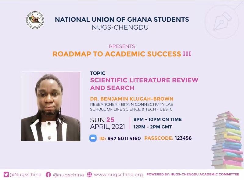 ROADMAP TO ACADEMIC SUCCESS III