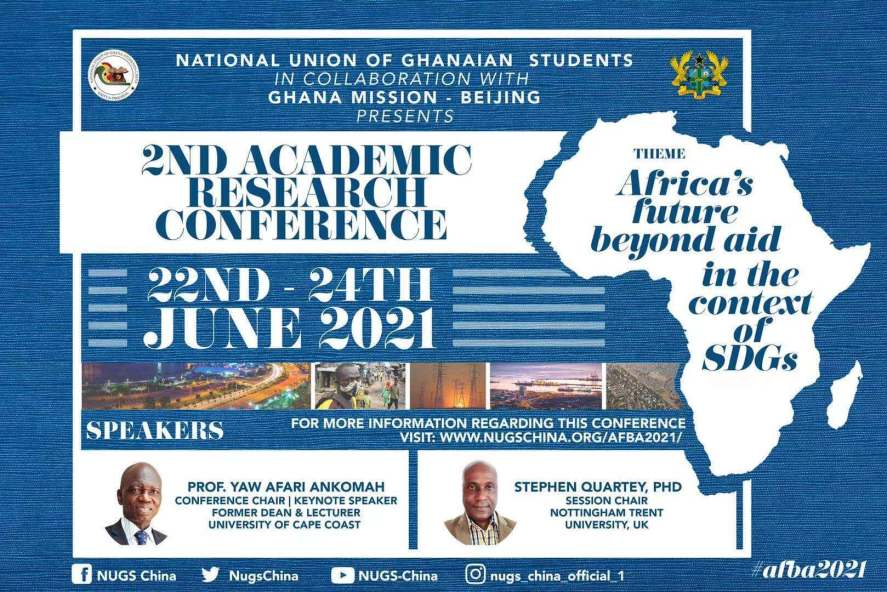 Online Conference Registration – Africa's Future Beyond Aid in the Context of SDGs (AFBA 2021)