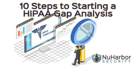 10 Steps to Starting a HIPAA Gap Analysis | NuHarbor Security