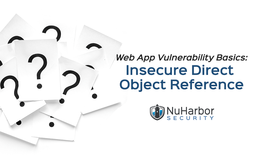 Web App Vulnerability Basics: Insecure Direct Object Reference
