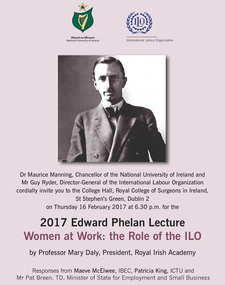 Edward Phelan Lecture Cover Photo