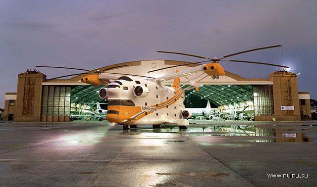 Hotelicopter - летающий отель-вертолет (8 фото)