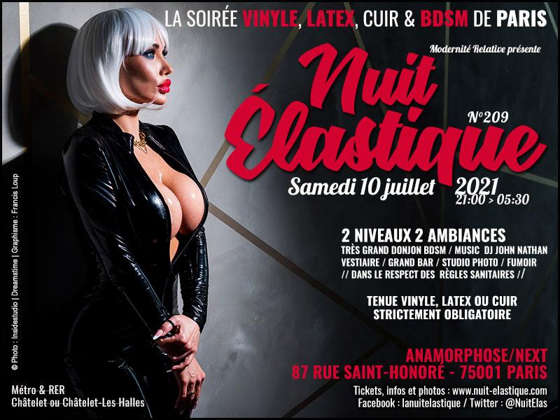 Flyer Nuit Elastique 209