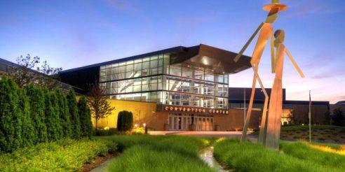 Mid America Center Convention Center Entrance