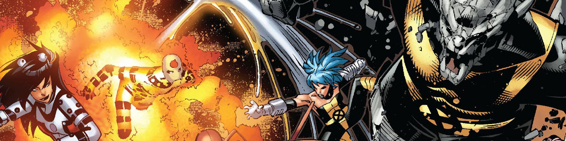 Mutant combatants throw themselves into combat.