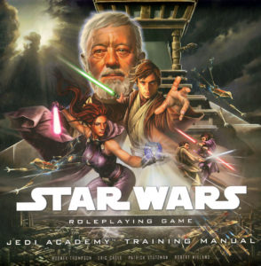 Luke Skywalker, Obi-Wan Kenobi, and other prominent Jedi are featured on this cover. A Jedi temple stands in the background.