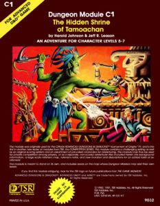 Three adventurers battle a quasi-Meso-American god.
