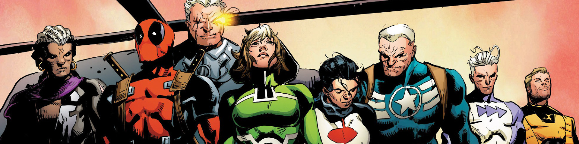 The Avengers team stands ready for their next assignment.