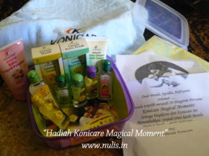 Hadiah konicare magical moment