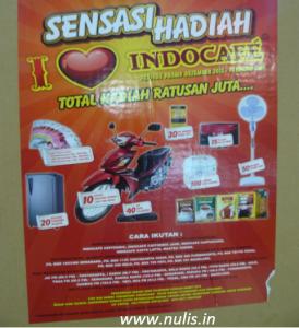 Promo Indocafe Khusus Jateng 2014