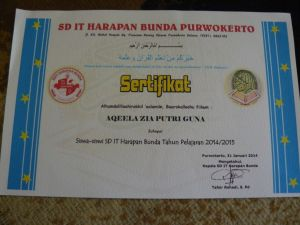sertifikat qeela
