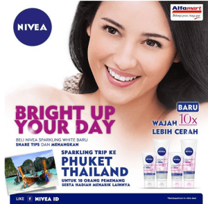 nivea bright up your day