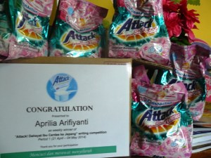 hadiah attack writing competition