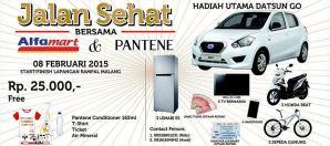 Jalan Sehat Alfamart & Pantene, Hadiah Utama Datsun Go!!