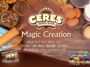 Ceres Magic Creation, Berhadiah Bingkisan Menarik