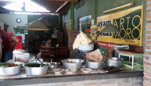 Ayam Pedas Arto Moro Godean Jogya : Ga Semua Pedas Ternyata