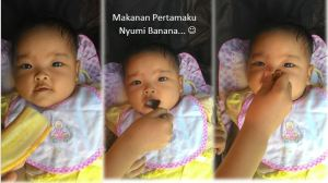 6 Bulan  Anindya : Mulai Mam Mam (Baby FC)