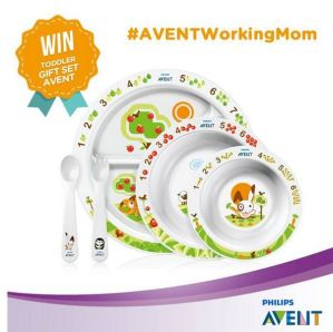 Avent Working Mom Competition  Berhadiah Toodler Gift Set AVENT