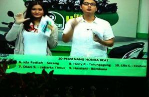 10 Pemenang Honda Beat  Undian So Nice (Day 9)