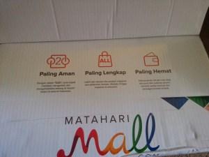 Packaging Matahari Mall : Super Keceh & Colourfull