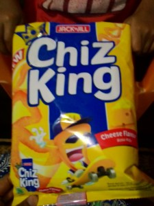 Chiz King : Snack Jagung Segitiga Yang Dipanggang Bukan Digoreng