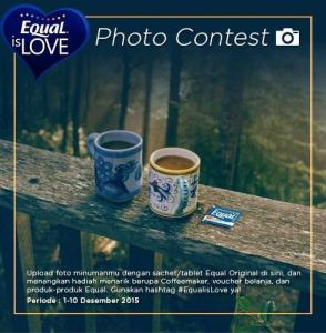 Equal Photo Contest : Berhadiah Coffe Maker & Voucher Belanja