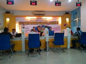 Gallery Indosat Purwokerto : Kantor Megah Ga Sesuai Isinya