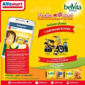 Belvita Breakfast Photo Contest Berhadiah Honda Scoopy