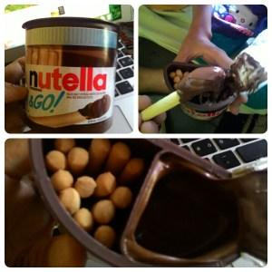 Nutella & Go : Biskuit Stik Coklat Nyumi...!