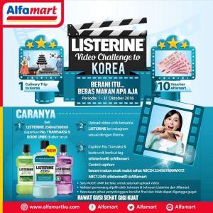 Listerine Video Challenge Berhadiah Trip Ke Korea