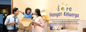 Sore Hangat Keluarga Sariwangi Berhadiah Furniture Ruang Keluarga