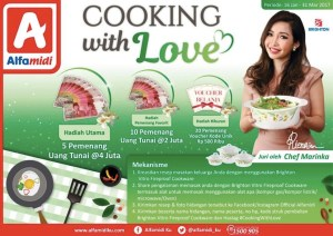 Cooking With Love Alfamidi Berhadiah Uang Total Puluhan Juta Rupiah