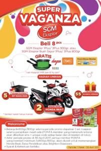 Undian SGM - Alfamidi Berhadiah Honda Beat