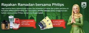 Menu Sehat Praktis Philips Berhadiah Voucher Belanja & Parcel Produk