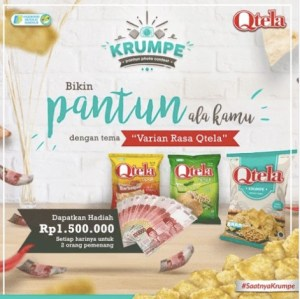 Pantun Photo Contest Qtela Krumpe Berhadiah Uang Tunai Jutaan Rupiah Setiap Hari