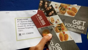 Voucher Johny Andrean 100K Hadiah Pengirim Pertama Jingle Video Kuaci Rebo