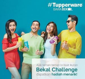 Bekal Challenge Photo Competition Berhadiah Produk Tupperware