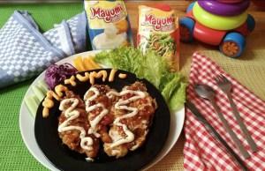 Chicken Katsu Mayo Veggie
