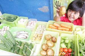 Bagaimana agar sikecil menyukai buah dan sayur?
