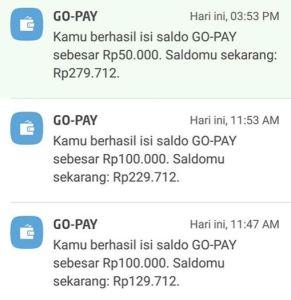 Hadiah Kilat Astra Financial, Pengumuman Langsung Masuk Saldo Gopay 250K